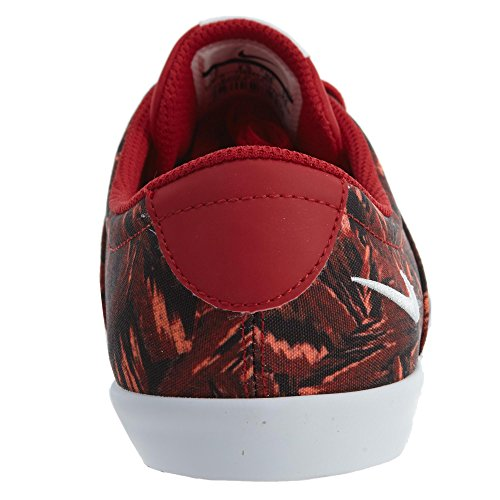 Nike Mini Sneaker Kant Print Dames Sportschool Rood / Wit / Ember Glow
