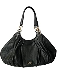 LILY SHOULDER BAG IN REFINED NATURAL PEBBLE LEATHER