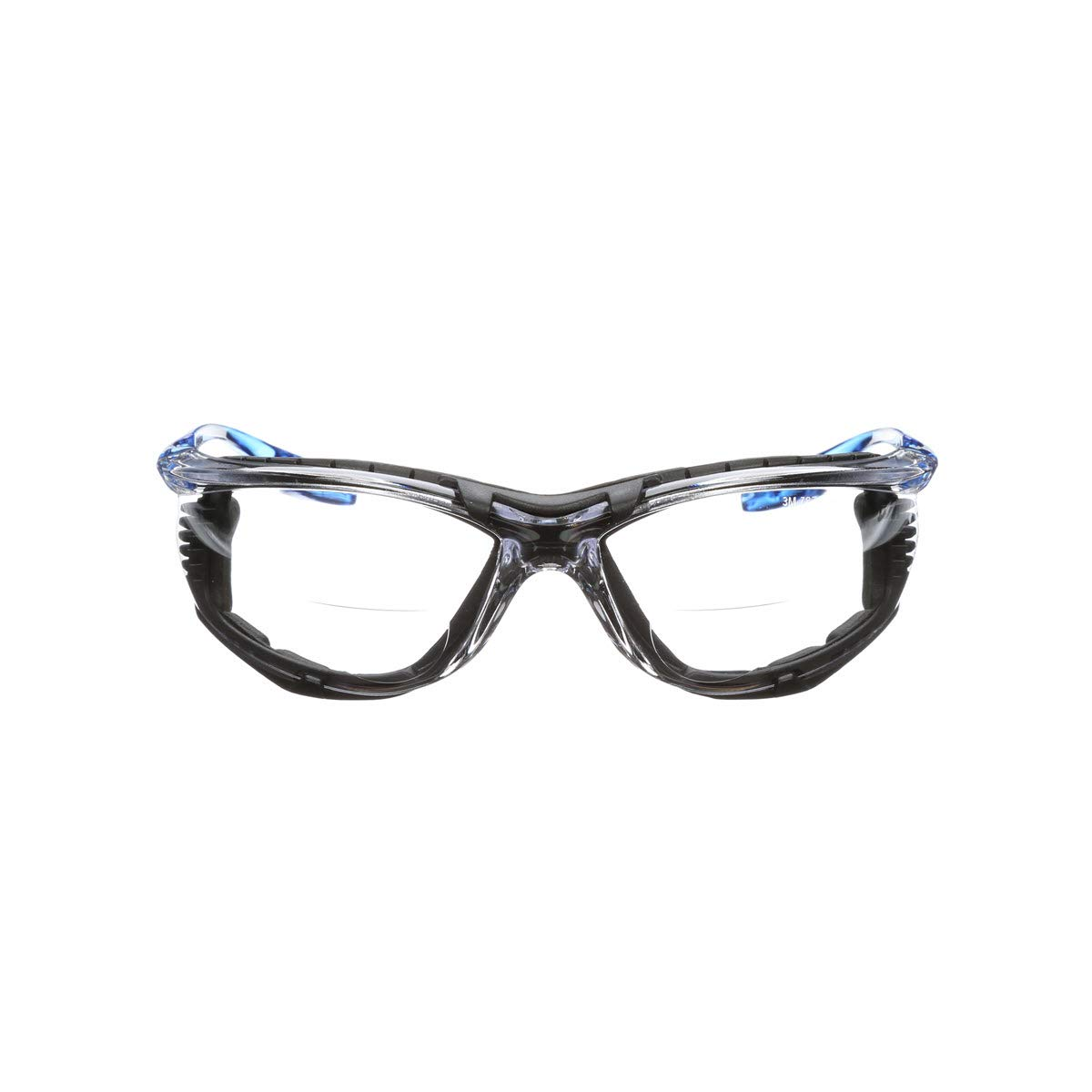 3M VC225AF Virtua CCS 2.5 Diopter Safety Glasses Clear Polycarbonate Anti-Fog and Foam Gasket Attachment