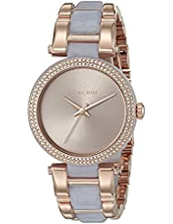 Michael Kors Womens Delray Rose Gold-Tone Watch MK4319