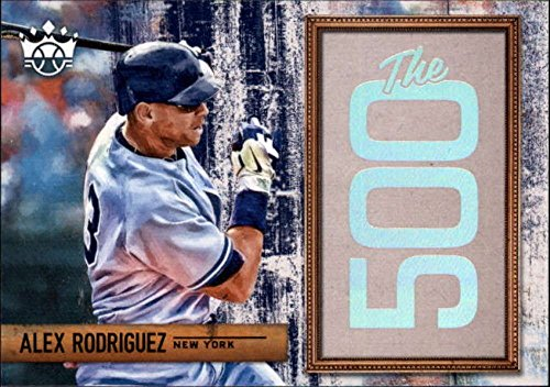 2018 Panini Diamond Kings The 500#500-AR Alex Rodriguez Yankees Baseball Card -
