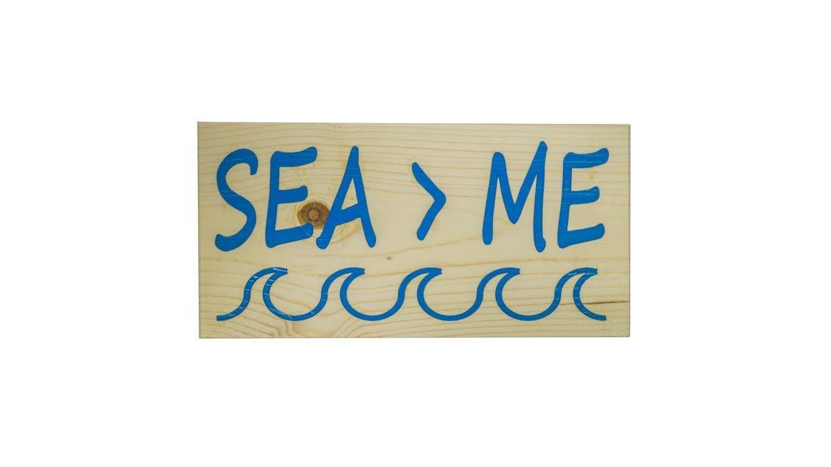 Enid18Bru Sea Me Hawaii - Cartel de Madera Hawaiana Hecho en ...
