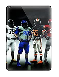 Protective Tpu Case With Fashion Design For Ipad Air (beautiful American Football Nfl)