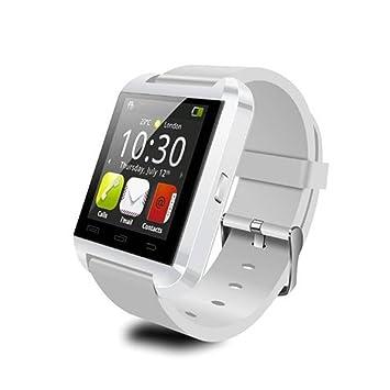 Megadream - Smartwatch con Bluetooth 4.0, impermeable, con cámara ...