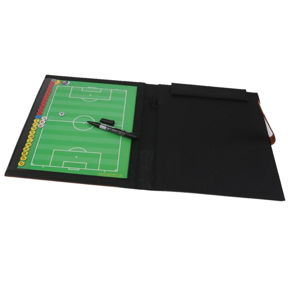 Kit Tableau Tactique en Cuir Synth/étique pour Coach Football