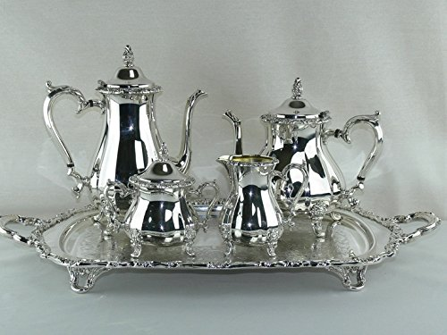 5 Piece Princess Tea/Coffee Set