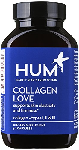 Hum Nutrition   Collagen Love   Skin Firming Support  90 Capsules