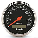 Auto Meter 1487-M Designer Black Electric Programmable Speedometer