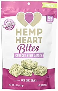 Manitoba Harvest Hemp Heart Bites, 4 Ounce