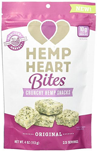 Manitoba Harvest Hemp Heart Bites (Heart Candy Bars)