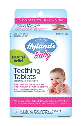 Hyland's Baby Teething Tablets, Safe and Natural Relief of ...