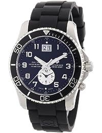 Swiss Army Men's 241440 Maverick GS Dual Time Black Double Date Dial Watch