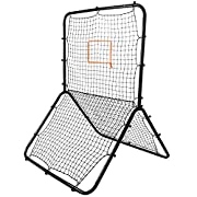 Amazon Lightning Deal 71% claimed: Crown Sporting Goods SBBL-101 Multi-Sport Rebounder Pitch Back Screen with Adjustable Target