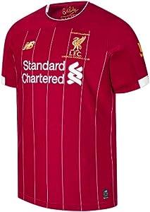 New Balance 2019-2020 Liverpool Champions Home Football Soccer T-Shirt Jersey