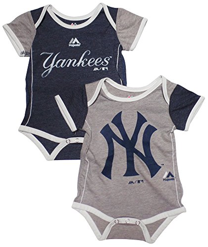 New York Yankees Baby Clothing (New York Yankees Baby / Infant 2 Piece Creeper Set 6-9 Months)