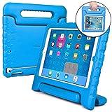 Apple iPad Mini 2 case for kids, fits iPad Mini 3 2 1 [SHOCK PROOF KIDS IPAD MINI CASE] COOPER DYNAMO Kidproof Child iPad Mini Cover for Toddlers, Girls Boys | Light Kid Friendly Handle & Stand (Blue)