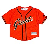 Majestic Athletic San Francisco Giants MLB Orange Official Alternate Cool Base Jersey For Infant