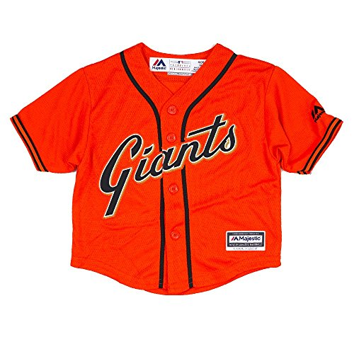 MLB Majestic Athletic Orange Official Alternate Cool Base Jersey For Infant (12M) (San Francisco Giants Baby)