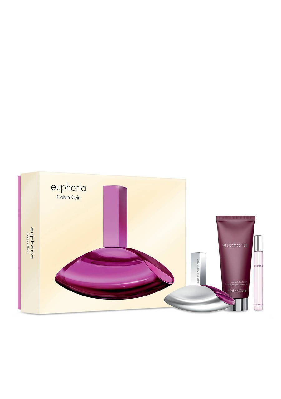 EUPHORIA Gift Set for WOMEN - 3.4oz EDP/0.33oz EDP/6.7oz Body Lotion - OR EMAIL FOR ANY OTHER PERFUMES - 100% AUTHENTIC & ORIGINAL - No Exceptions