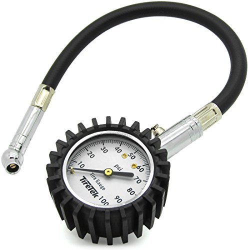 TireTek-Flexi-Pro-Tire-Pressure-Gauge-Heavy-Duty-Best-For-Car-Motorcycle-100-PSI