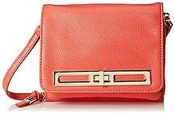 BIG BUDDHA Zoey Cross Body Bag, Coral, One Size