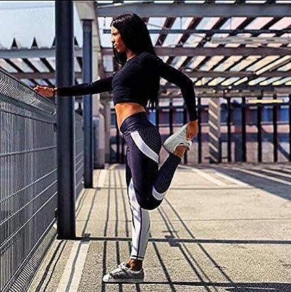 Yoga Minceur et Push up Taille Haute sur Les Fesses pour Une Silhouette /élanc/ée Courbes Sensationnelles Ducomi MEG Legging Push Up pour Femme Le Pilates et la Gym