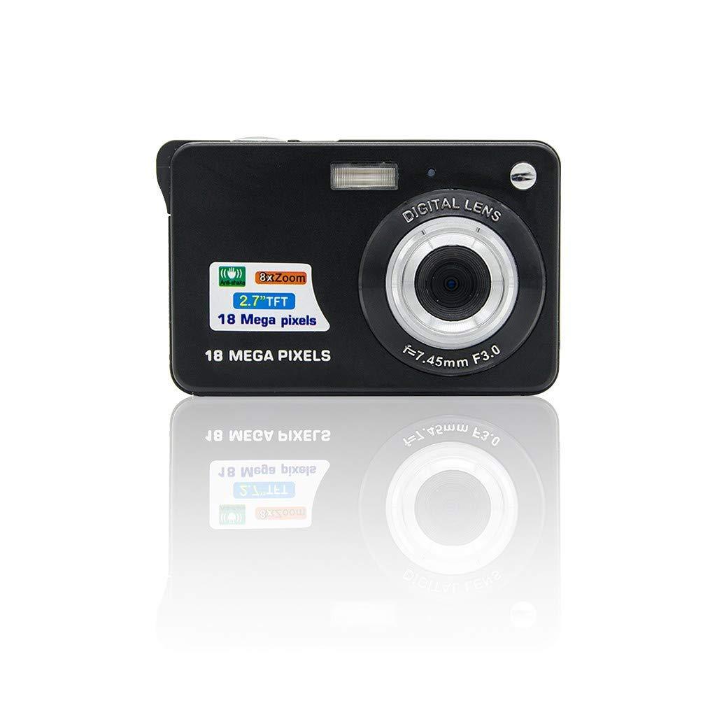 Iusun Digital Camera, 18 Mega Pixels 3.0MP CMOS Sensor 2.7 inch TFT LCD Screen HD 720P Digital Camera - Ship from USA (Black) by Iusun Camera