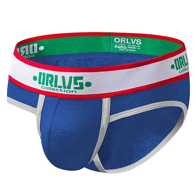 KIMODO Hombres Sexy Underwear Letter Impreso Boxer Briefs Shorts Bulge Pouch Underpants Tanga Bolsa Mini Panty: Amazon.es: Ropa y accesorios
