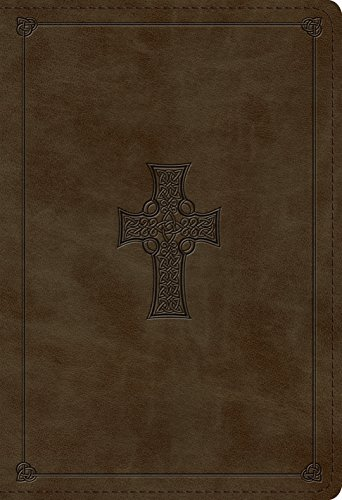 ESV Student Study Bible (TruTone, Olive, Celtic Cross Design) (Esv Celtic Cross Bible)