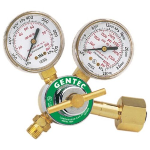 EURO TOOL Single Stage Oxygen Regulator (190x-80 - SOL-21...