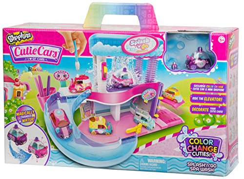 - Shopkins Cutie Cars Splash 'N' GO Spa Wash