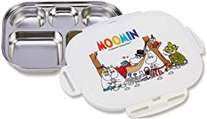 Stainless Steel Diet Tray Kids Baby Plate Food Storage Tray with Lock Lids