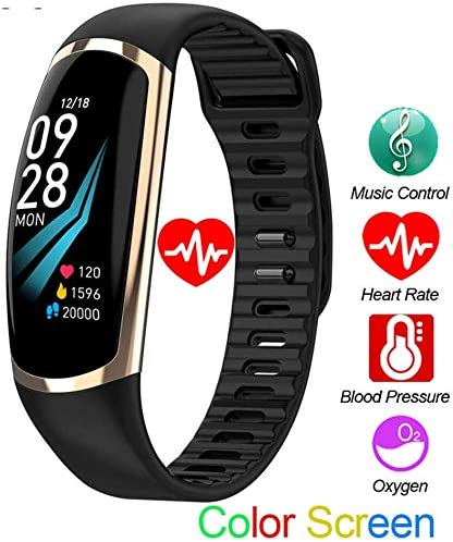 Amazon.com: Smart Bracelet, Bluetooth Sports Watch Fitness ...