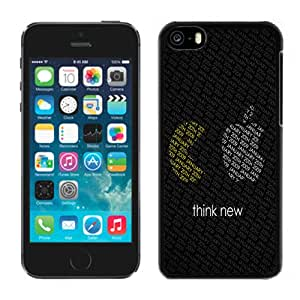 NEW Fashion Custom Designed Cover Case For iPhone 6 Plus 5.5 Inch Apple Think New Black Phone Case