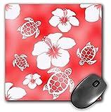 Best 3dRose Turtle Beach Mouse Pads - 3dRose Macdonald Creative Studios – Hawaii - Red Review