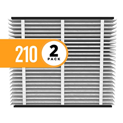 (Aprilaire 210 Air Filter for Aprilaire Whole Home Air Purifiers, MERV 11 (Pack of)