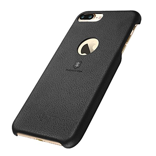 MXNET IPhone 7 Plus Fall, Textur PU + PC Paste Haut Schutzhülle CASE FÜR IPHONE 7 PLUS ( Color : Black )
