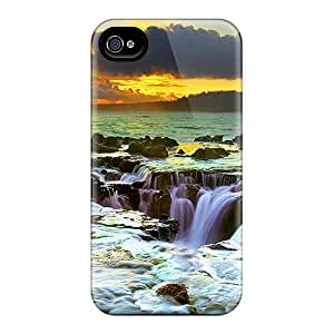 Fashion AOL5006SoaS Case Cover For Iphone 4/4s(come In One)