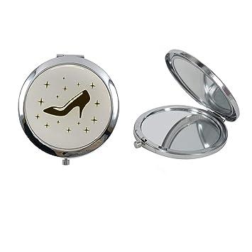 Cinderella High Heel Shoe Design Compact Mirror Favor 12PCS Quinceanera/Sweet 16/ Zapatilla de