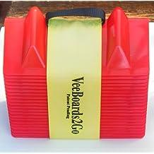 "veeboards (veeboards2go1) Rojo 4"" x 4"" x 11"" Edge Protector"