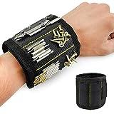 Magnetic Wristband Arm Band Tool Belt Cuff Bracelet Nail Screw Holder,Adjustable Strap,holding nails