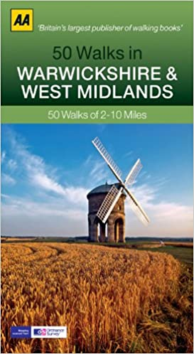 Warwickshire Walking Guidebook (AA)