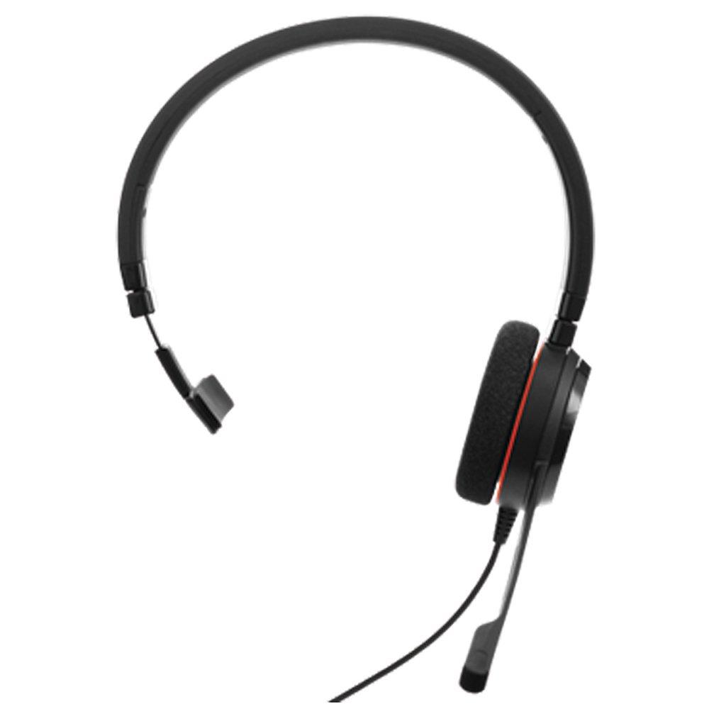 Jabra Evolve 20 MS Stereo - Auriculares (Binaurale, Negro, Diadema, Alá mbrico, USB, Supraaural) Alámbrico 52645