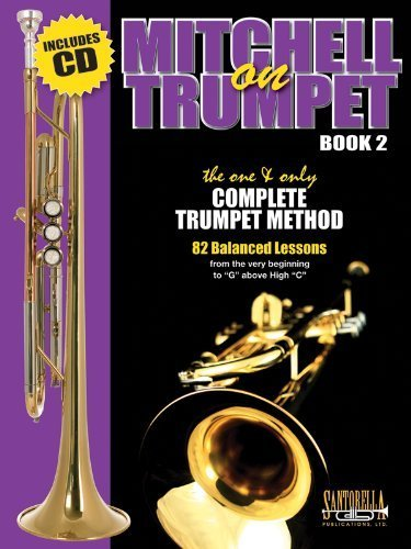 Mitchell on Trumpet - Book Two with CD by Harold E. Mitchell (2013-07-01)