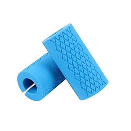 Esoes Thick Bar Grips Silicone Arm Training Fat Bar Grips Barbell Dumbbells Handles for Weightlifting Training and Muscle Growth, Strengthen Forearm Biceps ...