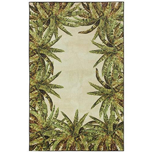 Mohawk Z0322 A414 096120 EC Verde Palm Area Rug, 8'x10', Green
