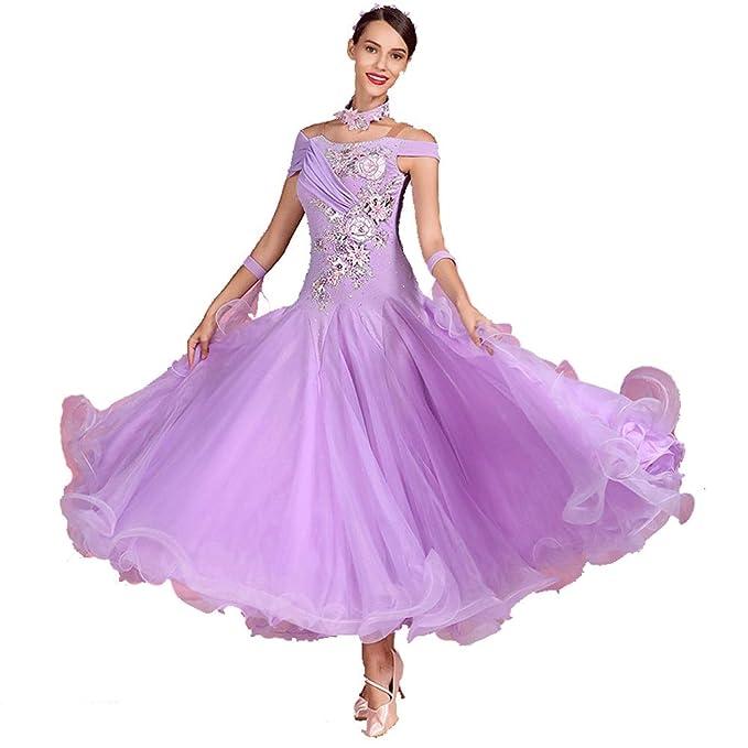 TFF Vestido Vals Moderno Falda del Vestido De La Falda De Baile ...