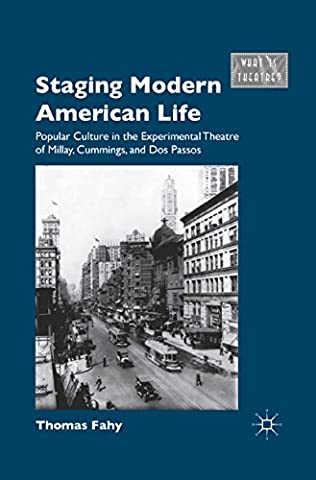book cover of Staging Modern American Life