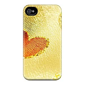 Excellent Design Knitting Love Phone Case For Iphone 4/4s Premium Tpu Case