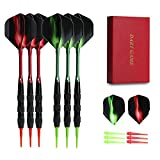 Vopa Professional 17 Grams Soft Tip Darts Set with Plastic Tip, 2 Styles...
